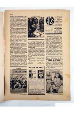 Contracubierta de ALGO. SEMANARIO ILUSTRADO ENCICLOPÉDICO Y DE BUEN HUMOR AÑO V. N.º 194. 29 ABRIL 1933. FREIXAS (Vvaa)