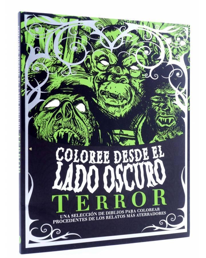 Cubierta de TERROR. COLOREE DESDE EL LADO OSCURO (Vvaa) Parragon 2016
