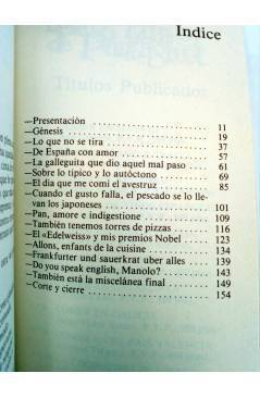 Muestra 2 de LA COCINA DE LOS NIETOS DE MARTIN FIERRO (Jaime Botana / Ramón Ballesteros) Penthalon 1981