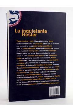 Contracubierta de LA INQUIETANTE HESTER (Anne Douglas Sedgwick) Rey Lear 2014