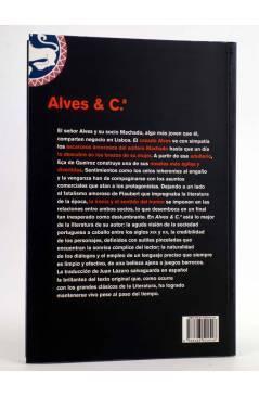 Contracubierta de ALVES & Cª CÍA. (Eça De Queiroz) Rey Lear 2006