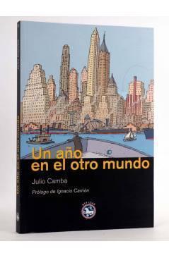Cubierta de UN AÑO EN EL OTRO MUNDO (Julio Camba) Rey Lear 2009