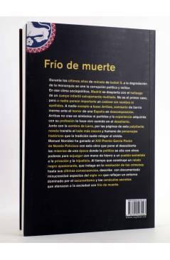 Contracubierta de FRÍO DE MUERTE (Manuel Nonídez) Rey Lear 2010