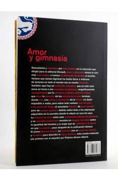 Contracubierta de AMOR Y GIMNASIA (Edmondo De Anicis / Manuel Alcorlo) Rey Lear 2012