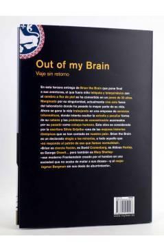 Contracubierta de OUT OF MY BRAIN. VIAJE SIN RETORNO. BRIAN THE BRAIN 3 (Miguel Ángel Martín) Rey Lear 2014