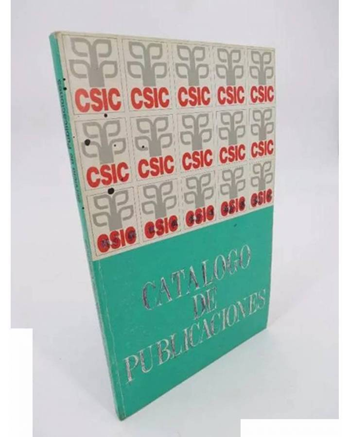 Cubierta de CSIC. CATÁLOGO DE PUBLICACIONES.. CSIC