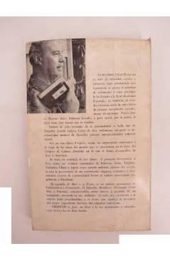 Contracubierta de TRÓPICOS. GEOGRAFÍAS DE ASIA Y AMÉRICA (Guillermo Díaz Plaja) Prometeo 1968