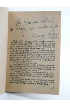 Muestra 1 de COLECCIÓN MADREPERLA 246. LAZOS ETERNOS (Amparo Lara) Bruguera Bolsilibros 1953. CON DEDICATORIA