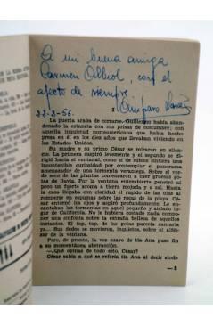 Muestra 1 de COLECCIÓN PIMPINELA 487. SUEÑO Y VERDAD (Amparo Lara) Bruguera Bolsilibros 1956. CON DEDICATORIA
