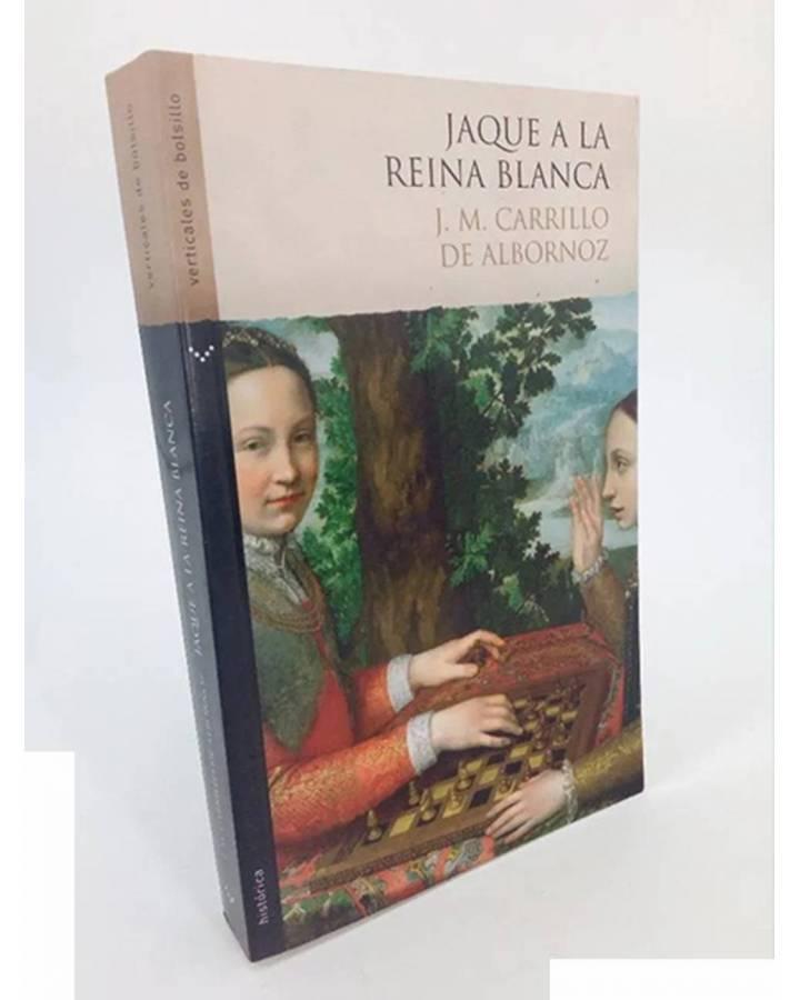 Cubierta de JAQUE A LA REINA BLANCA (J.M. Carrillo De Albornoz) Norma 2007