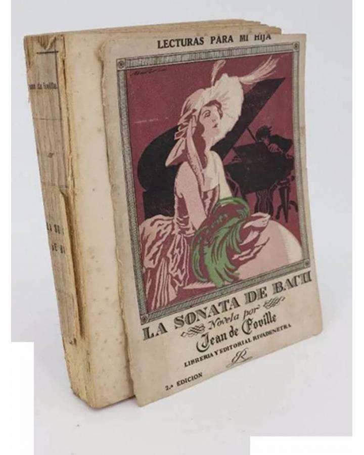 Cubierta de LECTURAS PARA MI HIJA. LA SONATA DE BACH (Jean De Foville) Rivadeneyra 1923