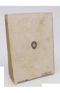 Contracubierta de LECTURAS PARA MI HIJA. LA SONATA DE BACH (Jean De Foville) Rivadeneyra 1923