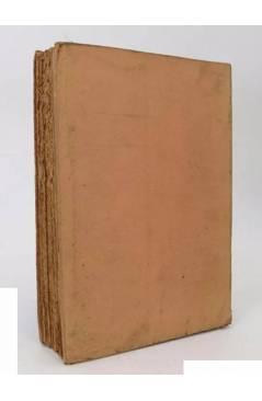 Contracubierta de EL DÍA ANTES (H.M. Tomlison) Hermes 1949