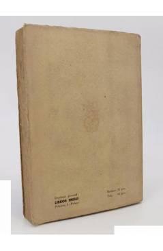 Contracubierta de UN INVIERNO EN MALLORCA (George Sand) Clumba 1949