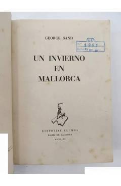 Muestra 1 de UN INVIERNO EN MALLORCA (George Sand) Clumba 1949