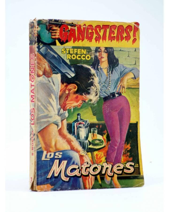 Cubierta de GANSTERS! 3. LOS MATONES (Stefen Rocco) Rollán 1960
