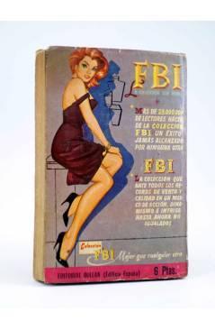 Contracubierta de GANSTERS! 3. LOS MATONES (Stefen Rocco) Rollán 1960