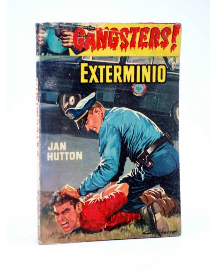 Cubierta de GANSTERS! 57. EXTERMINIO (Jan Hutton) Rollán 1961