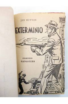 Muestra 1 de GANSTERS! 57. EXTERMINIO (Jan Hutton) Rollán 1961