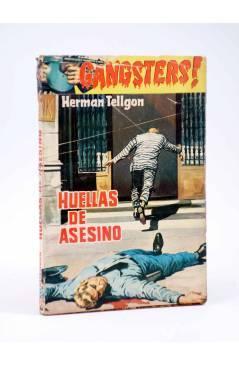 Cubierta de GANSTERS! 71. HUELLAS DEL ASESINO (Herman Tellgon) Rollán 1962