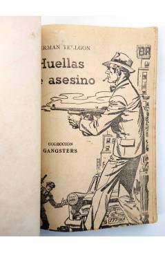 Muestra 1 de GANSTERS! 71. HUELLAS DEL ASESINO (Herman Tellgon) Rollán 1962