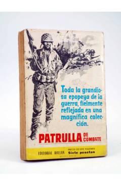Contracubierta de GANSTERS! ??. CRÓNICA SANGRIENTA (J. Tell) Rollán 1962