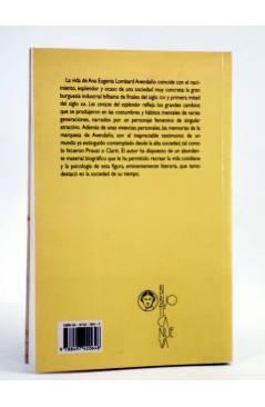 Contracubierta de LAS CENIZAS DEL ESPLENDOR (Antonio Menchaca) Biblioteca Nueva 2002