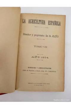Muestra 2 de LA AGRICULTURA ESPAÑOLA. REVISTA QUINCENAL. AÑO 1904. NºS 129 a 152 encuadernados en un tomo. 24 NºS. 1904