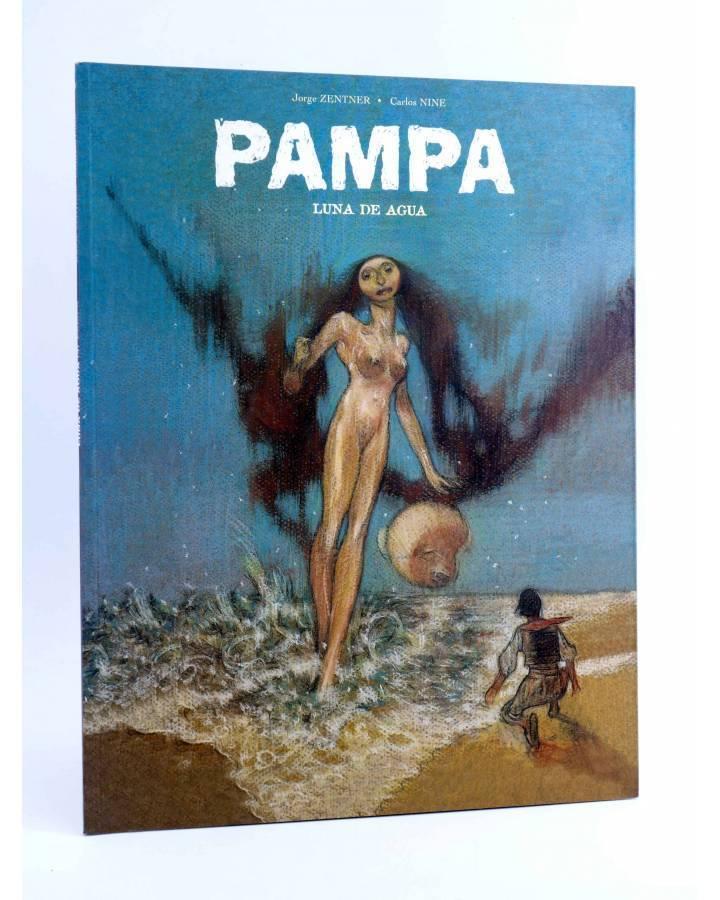 Cubierta de PAMPA 3. LUNA DE AGUA (Jorge Zentner / Carlos Nine) Sins entido 2005