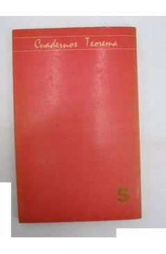 Contracubierta de CUADERNOS TEOREMA 5. EL DARWIINISMO (M.O. Beckner) Dep. Lógica y Filosofía de la Ciencia UV 1976