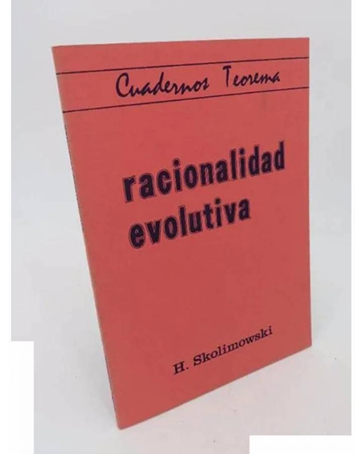 Cubierta de CUADERNOS TEOREMA 35. RACIONALIDAD EVOLUTIVA (H. Skolimowski) Dep. Lógica y Filosofía de la Ciencia UV 1979