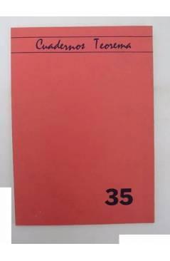 Contracubierta de CUADERNOS TEOREMA 35. RACIONALIDAD EVOLUTIVA (H. Skolimowski) Dep. Lógica y Filosofía de la Ciencia UV