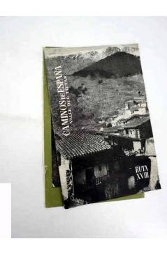 Cubierta de CAMINOS DE ESPAÑA. RUTA XXI. PICOS DE EUROPA II. Compañía Española de Penicilina 1958