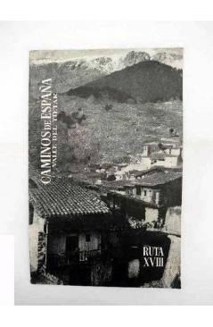 Contracubierta de CAMINOS DE ESPAÑA. RUTA XXI. PICOS DE EUROPA II. Compañía Española de Penicilina 1958