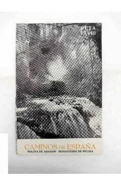 Cubierta de CAMINOS DE ESPAÑA. RUTA LXVIII. MOLINA DE ARAGÓN / MONASTERIO DE PIEDRA. Compañía Española de Penicilina 196