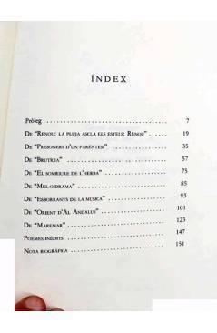 Muestra 2 de POESÍA GREGAL 11. ANTOLOGÍA (Josep Piera) Gregal 1987