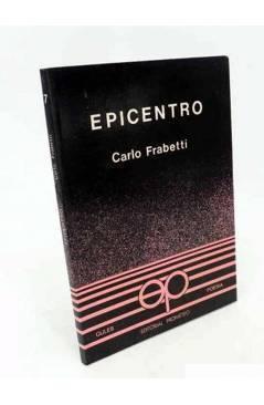 Cubierta de COLECCIÓN GULES POESÍA 7. EPICENTRO (Carlo Frabetti) Prometeo 1982