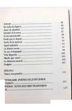 Muestra 3 de COLECCIÓN GULES POESÍA 1. OTESNITA (Justo Jorge Padrón) Prometeo 1979