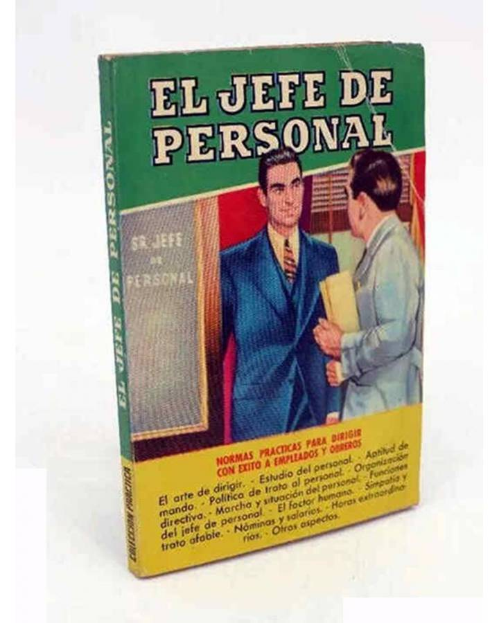 Cubierta de COLECCIÓN PRÁCTICA.. EL JEFE DE PERSONAL (Jaime Vicens Carrió) Bruguera 1956