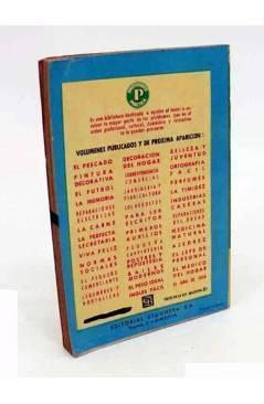 Contracubierta de COLECCIÓN PRÁCTICA.. EL JEFE DE PERSONAL (Jaime Vicens Carrió) Bruguera 1956