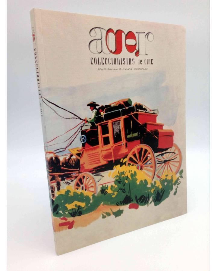 Cubierta de AGR COLECCIONISTAS DE CINE 18. VERANO (Vvaa) El Gran Caid 2003