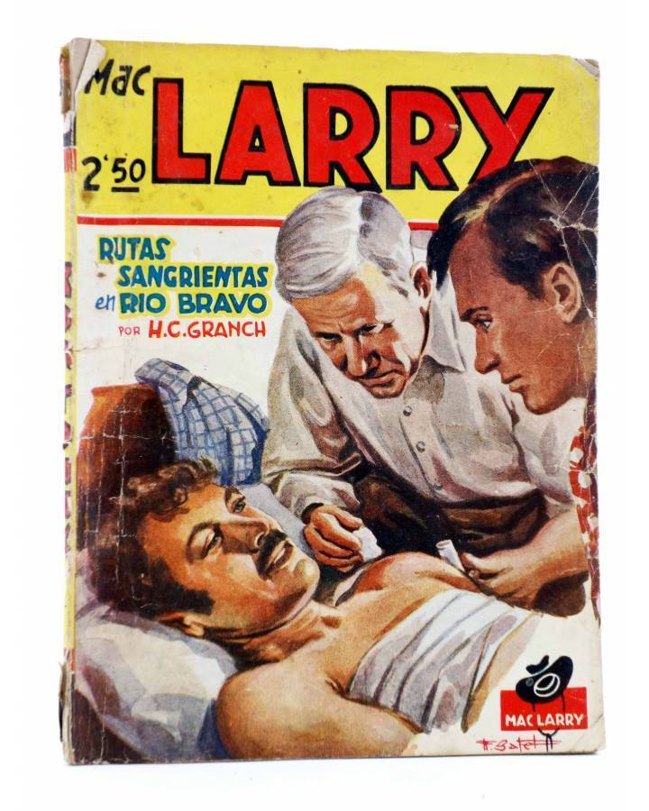 Cubierta de MAC LARRY 17. Rutas sangrientas en Río Bravo (H.C. Granch) Cliper 1946