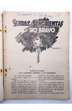 Muestra 1 de MAC LARRY 17. Rutas sangrientas en Río Bravo (H.C. Granch) Cliper 1946