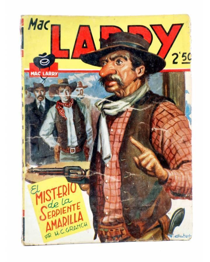 Cubierta de MAC LARRY 23. El misterio de la Serpiente Amarilla (H.C. Granch) Cliper 1946