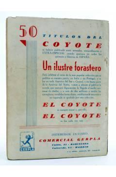 Contracubierta de MAC LARRY 23. El misterio de la Serpiente Amarilla (H.C. Granch) Cliper 1946
