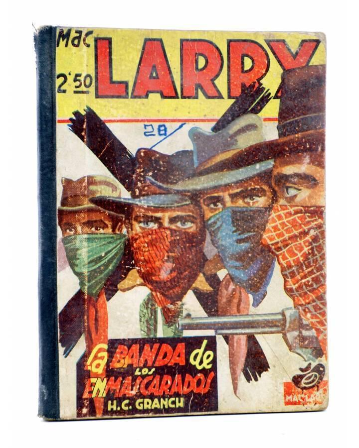 Cubierta de MAC LARRY 28. La banda de los enmascarados (H.C. Granch) Cliper 1946