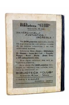 Contracubierta de MAC LARRY 28. La banda de los enmascarados (H.C. Granch) Cliper 1946