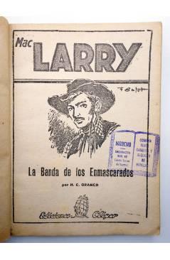 Muestra 2 de MAC LARRY 28. La banda de los enmascarados (H.C. Granch) Cliper 1946