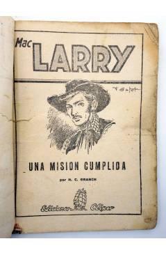 Muestra 1 de MAC LARRY 32. Una misión cumplida (H.C. Granch) Cliper 1946