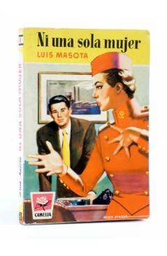 Cubierta de COLECCIÓN CAMELIA 58. NI UNA SOLA MUJER (Luís Masota) Bruguera Bolsilibros 1954